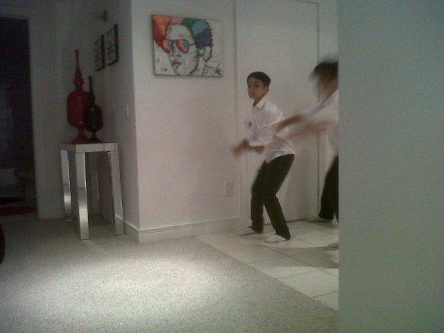 Dawson , my grandson , doing Hip Hop!