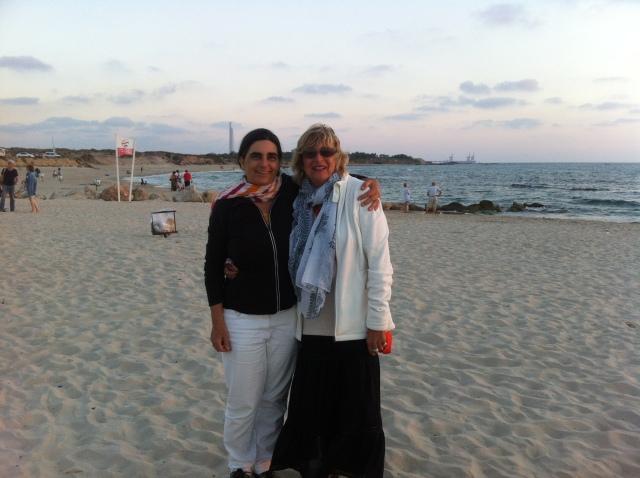 On the beach withTimma