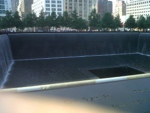 Where the twin towers were!