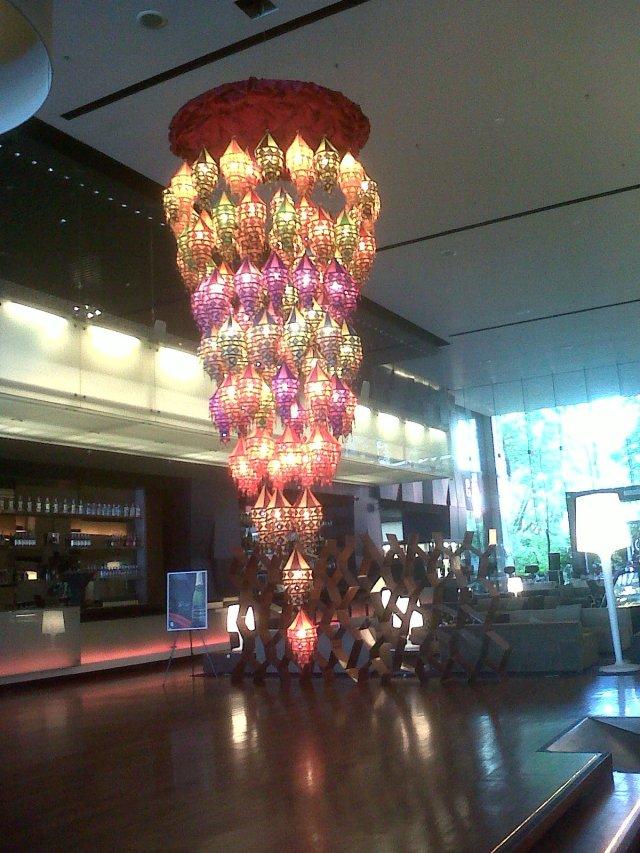 Hotel, where I eat breakfast sometimes!