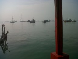 Scene from Chinese Pier!