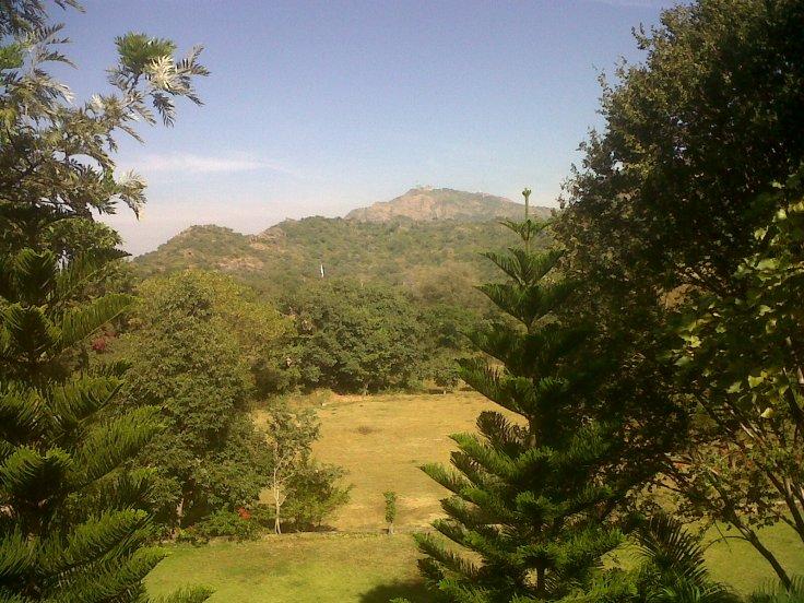 Pakistan Surveillance on top of mountain!