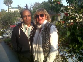 With friend Dr Sharma in Mt Abu