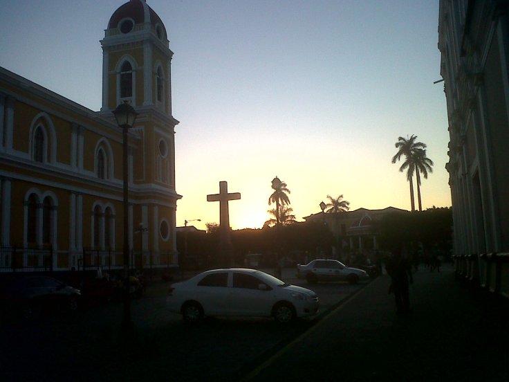 Granada at sunset!