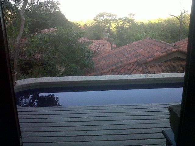Sunrise at villa!