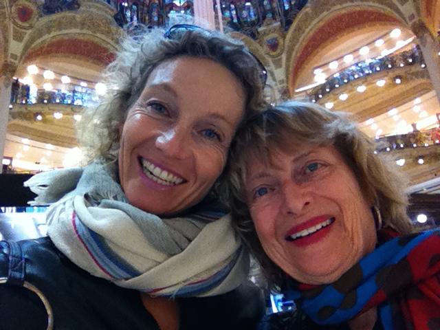 Friend from Spain Manuela in Paris!