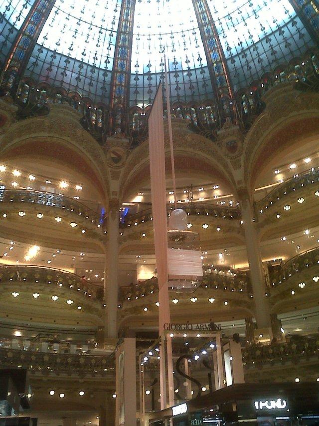 Shopping in Paris!