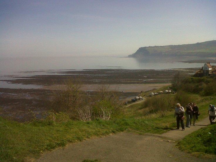 Top of UK! North Sea.