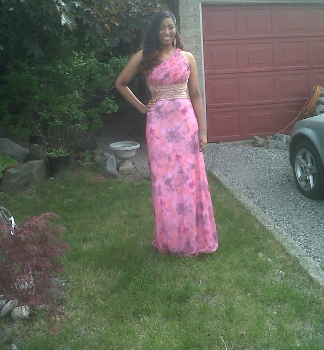 Beautiful Malaika from my adopted family, ready for the Prom!!