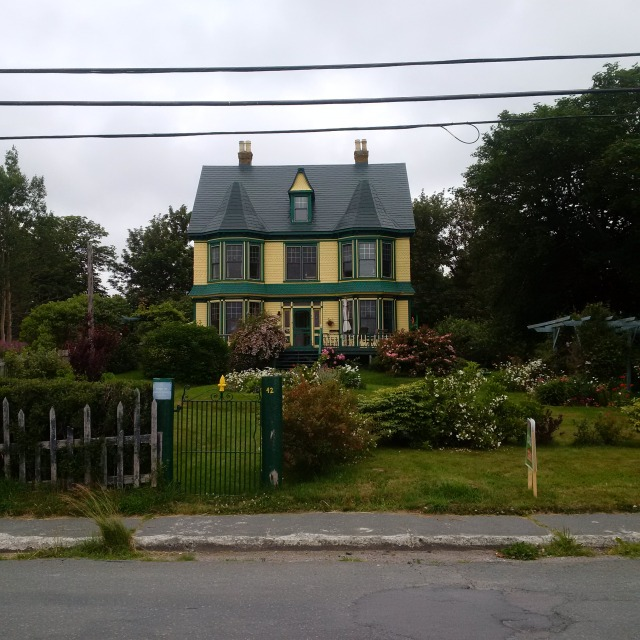 Caption, Home where I stay in Harbour Grace NL and it is for sale ( very sad)!!