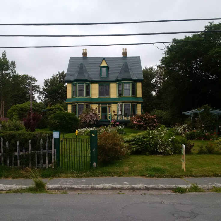 Caption, Home where I stay in Harbour Grace NL and it is for sale ( very sad)‎!!