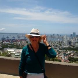Overlooking Cartagena