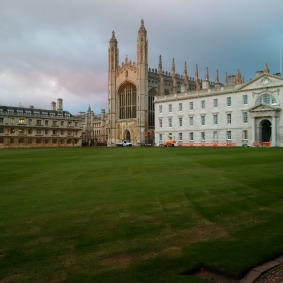 I don't know anything more beautiful than King's College Cambridge!
