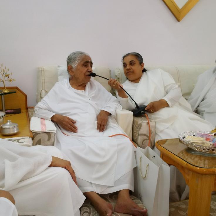 Dadi Janki, my100 year old spiritual mentor!