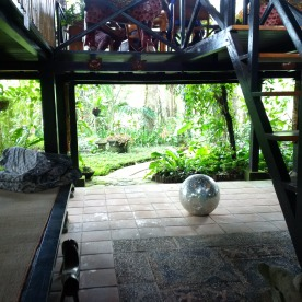 My friends Clare's home in Bali, high in the mountains!
