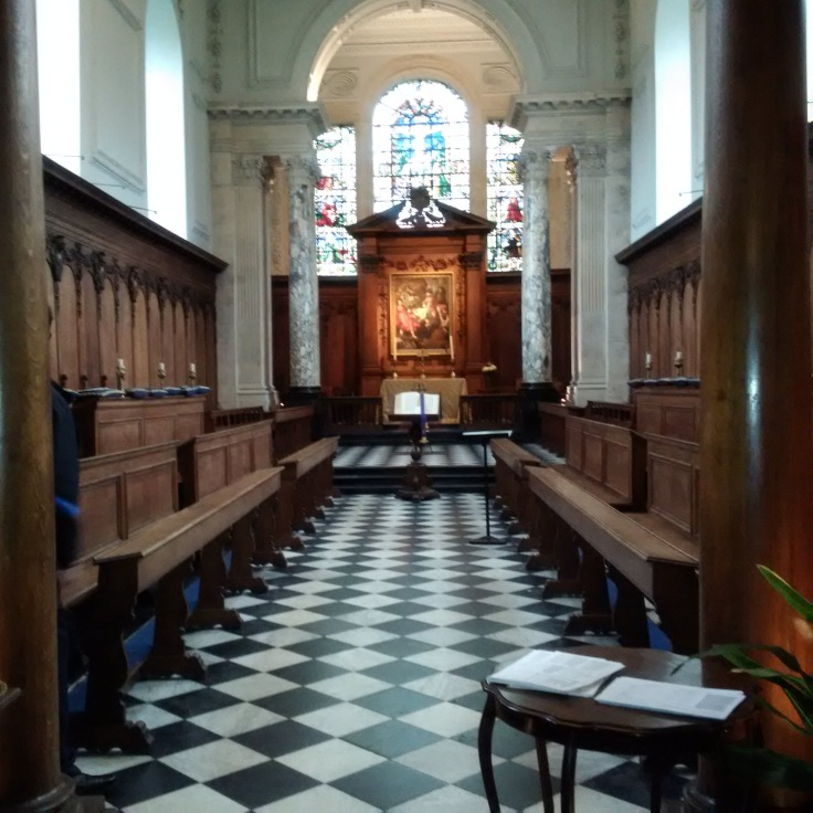 Beautiful Chapel at Pembroke College!