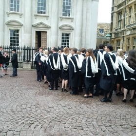 Graduation at Trinity College!