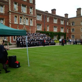 Graduation class from Jesus College!!