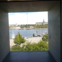 From window of Modern Art museum. In stockholm!