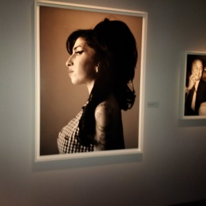 The late Amy Winehouse, just amazing (Adams exhibit)!!
