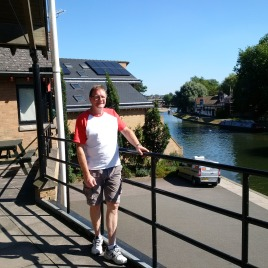 Paul has been Boatman at Cambridge for over 30 years!!