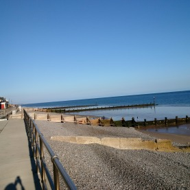 Seaside at Sheringham!!