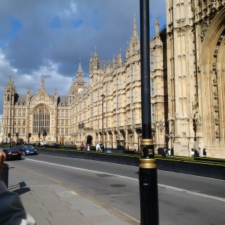 Lovely sunny day in London Town! (parliament)