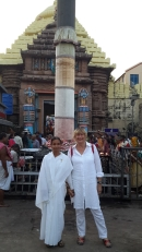 At The Jagannath Temple in Puri!