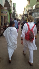 Walking through streets of India!