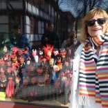 With all the devil puppets in Göttingen, Germany
