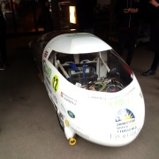 Solar Energy car developed by Cambridge students (they are driving from top of Australia to bottom, lots of sunshine there!!!)