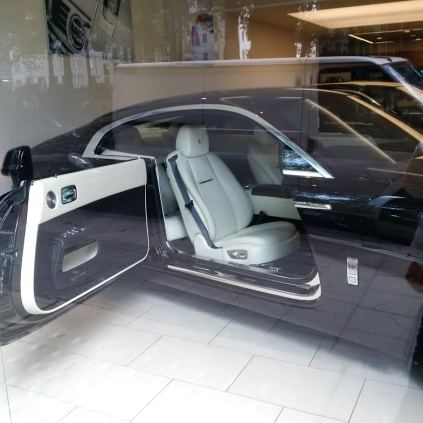 Black and White Rolls Royce (my favorite colors)