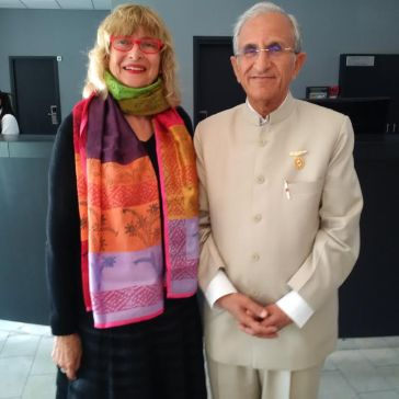 Dr Partap, CEO of the Global Hospital in Mt Abu India!