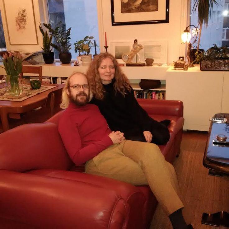My hosts Ottarr and Svanborg