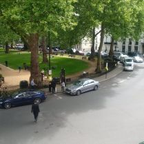 View of Central London, where I was having my special lunch!!