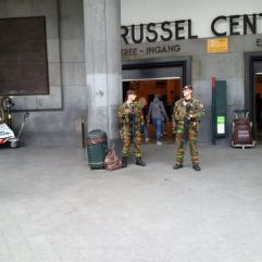 You can certainly tell Brussels has been effected by terror attacks!