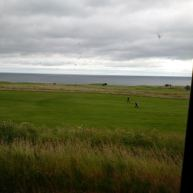 From the train at the English/Scottish border!