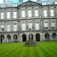 Queen's residence in Edinburgh!