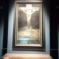 Salvador Dali painting. Christ of St John, I have been wanting to see this painting and it is in Glasgow!