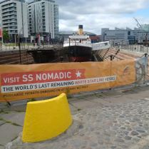 Couldn't resist the name Nomadic, one of the tugs that assisted the Titanic!