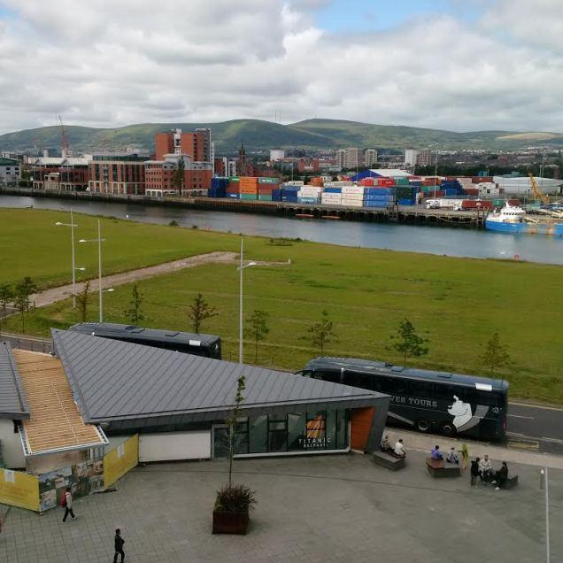 Overlooking Belfast!