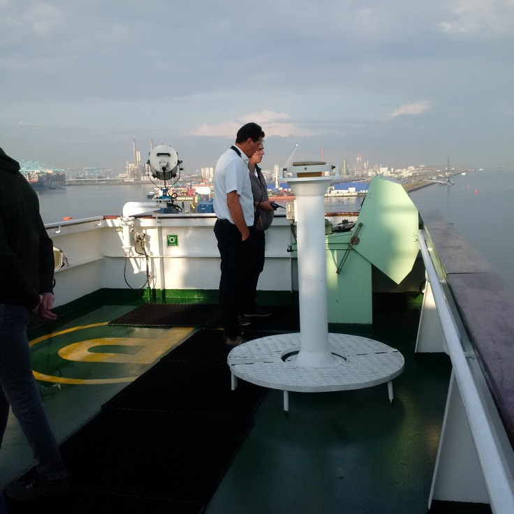 Captain and Pilot. Checking Radar!