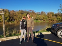 Fun day in St Jacobs with friend Gordon