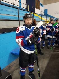 Hockey star grandson Ben