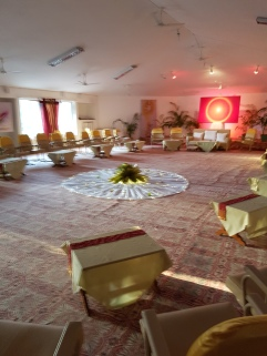 Meeting room for Call of the Time delegates
