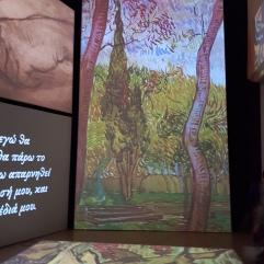 Van Gogh alive exhibit
