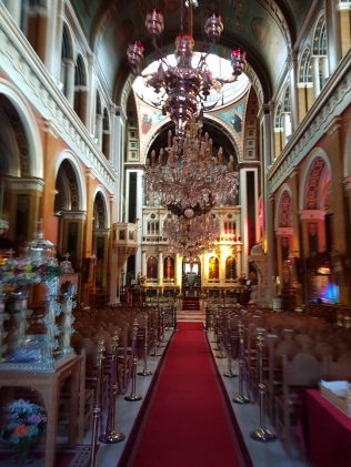 Beautiful church on island of Syros