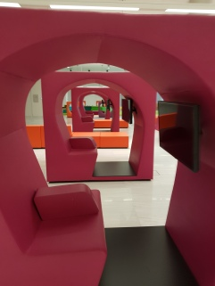 Individual entertainment pods for kids