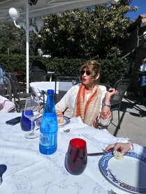 At my Birthday lunch by the sea. I was teased and told this picture was nicknamed The Movie Star