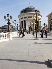 VIBRANT CENTRE OF SKOPJE CAPITAL OF MACEDONIA 4